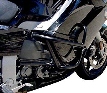 MC Enterprises Canyon Cages Fairing Protectors - 7/8in. Tubing - Powdercoat Black 1200-400 by MC Enterprises
