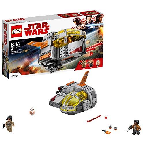 Lego Star Wars Episode Viii  Resistance Transport Pod Costruzioni