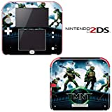 Teenage Mutant Ninja Turtles TMNT Decorative Video Game Decal Cover Skin Protector for Nintendo 2Ds