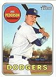 2018 Topps Heritage #236 Joc Pederson Los Angeles Dodgers Baseball Card
