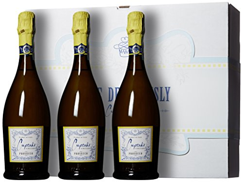 Cupcake Vineyards Love Deliciously Bubbly Wine Gift Box, 3 x 750 mL