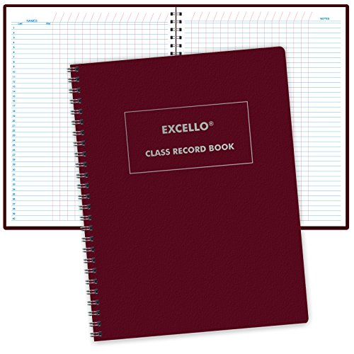 Class Record Book Unstructured.set it up to record grades your way! 40 student names (Excello) -