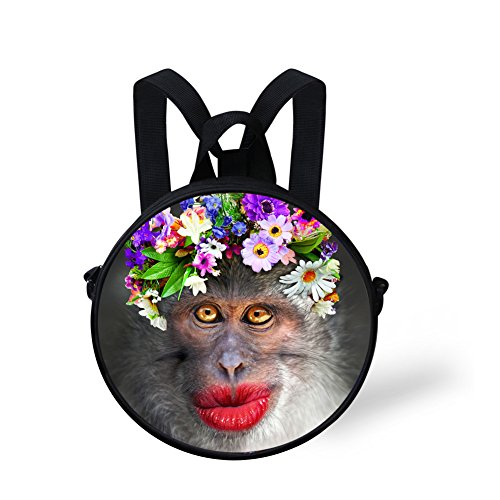Cute FancyPrint Crossbody Cute Handbag Round Bag Print Dfgca4923i Round qP4wSAUx