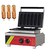 Hot dog Waffle Maker ''Puffle NP-527'' Professional Non-Stick 110v (GRILL for HOT DOG Waffles)