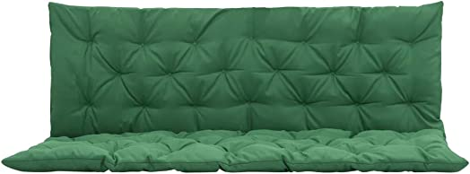 vidaXL Replacement Cushion for Garden Swing Chair Seat and Backrest 59 Green