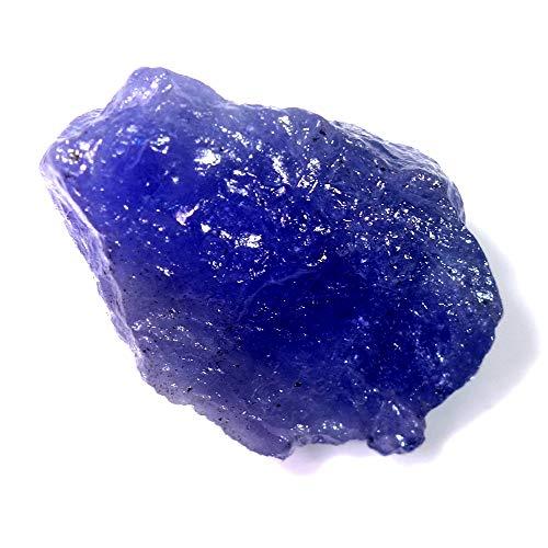 (Big~ Massive!! 27.15cts 100% Natural Supreme Blue Tanzanite Rough A++)