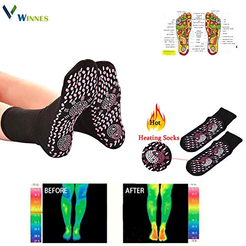 Winnes Foot Massager Self-Heating Far Infrared Paded