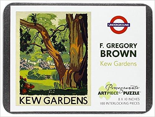 F Gregory Brown Kew Gardens 100 Piece Jigsaw Puzzle Aa831 Amazon