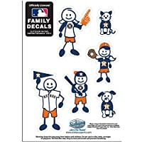 MLB Houston Astros Family Character Decals, Small