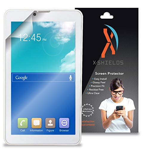 XShields© High Definition (HD+) Screen Protectors for Neutab G7 Air 7 Tablet (Maximum Clarity) Super Easy Installation [2-Pack] Lifetime Warranty, Advanced Touchscreen Accuracy