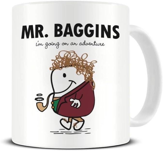 Mr Baggins Mug - I'm Going On An Adventure
