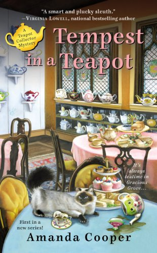 Tempest in a Teapot (A Teapot Collector Mystery Book 1) by [Cooper, Amanda]