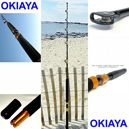(OKIAYA COMPOSIT 160-200LB The Big Nasty Saltwater Big Game Roller)