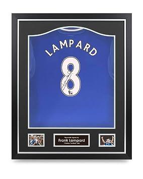 Frank Lampard Signed Shirt Chelsea Framed Autograph  8 Jersey Memorabilia  COA 45eb62b1d