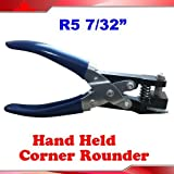 R5:7/32'' Hand Held Card Corner Rounder Die Cutter Punch Tool by Business Card Making