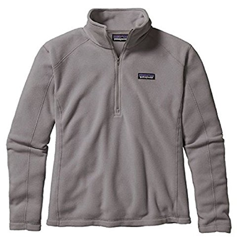 patagonia-womens-micro-d-1-4-zip-pullover-sweatshirt-small-feather-grey