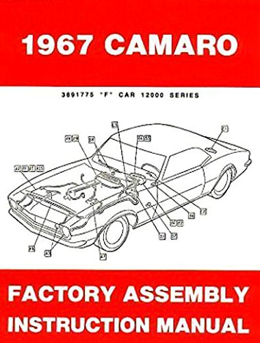 Plus Heater Assembly (1967 Camaro plus RS SS and Z28 Factory Assembly Instruction Manual 67 Chevy Chevrolet)