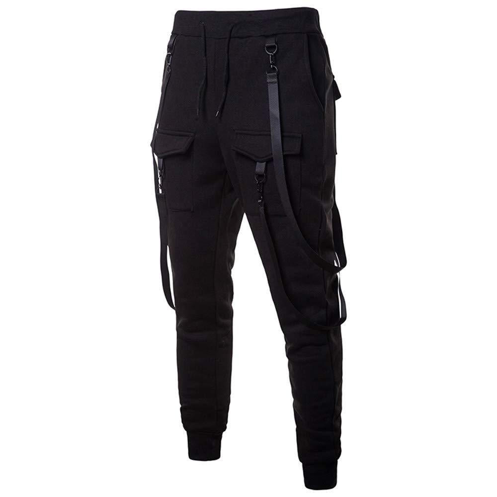 Winter Men Sweatpants Hot Sale Fashion Casual Solid Color Loose Sport Long Pant