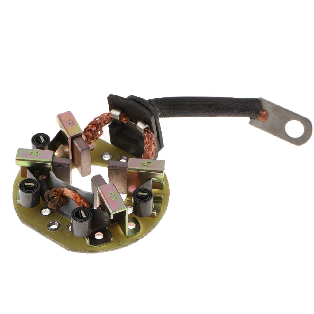 Replace OEM 31208-PCA-902 Starter Brush Holder and Brushes for Honda Accord Civic Odyssey