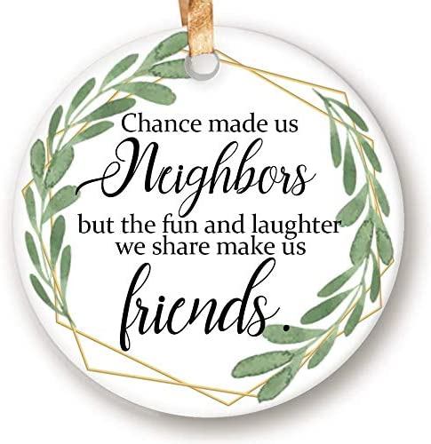 Neighbors Skip A Payment Christmas 2020 Amazon.com: Dadidyc Rustic Neighbor Christmas Ornament 2020 Chance