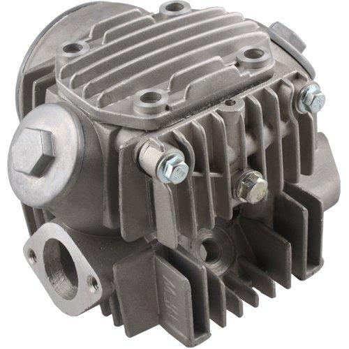 54mm Cylinder Head Assembly for 125cc ATVs Dirt Bikes Go Karts Barrel Quad 4 Wheeler Pit Bike Dune Buggy