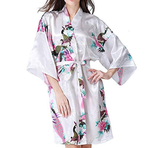 Primavera cardigan accappatoio di seta kimono imitazione all Wear codice pigiama accappatoio e J lingerie giapponese home WTDlove di signora autunno fpRwdOAqxA