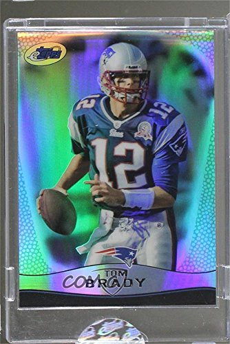 Tom Brady Manufacturer ENCASED Uncirculated #322/749 (Football Card) 2009 eTopps - [Base] #12