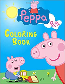 peppa pig coloring book great book for your children steve pictor 9781546942863 amazoncom books - Peppa Pig Coloring Book