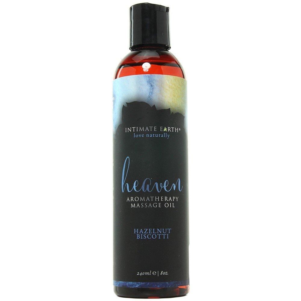 Intimate Earth Heaven Hazelnut Biscotti Massage Oil 8oz by Intimate Earth (Image #1)