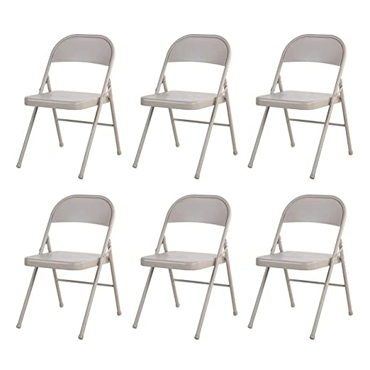FENGFAN-Silla plegable Todas Las sillas de Oficina de Metal ...