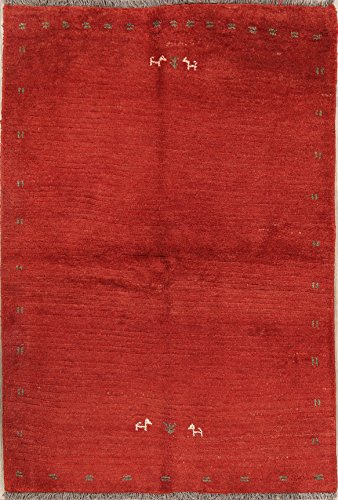 Rug Source One-of-A-Kind New Gabbeh Modern Tribal Hand-Knotted for sale  Delivered anywhere in USA