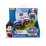 Paw Patrol Nickelodeon, -Ryder's Rescue ATV, Vechicle and Figure