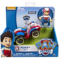 Nickelodeon, Paw Patrol - Ryder's Rescue ATV, Vehicle and...