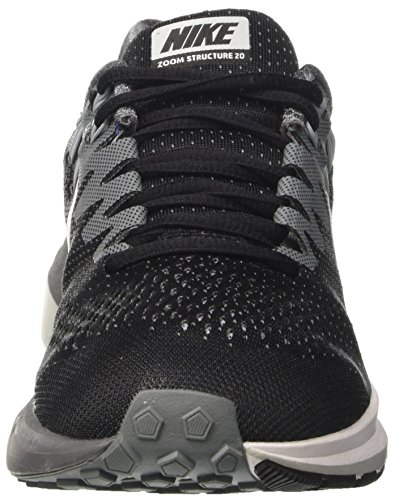 Nike Mens Air Zoom Structure Running Shoes Black/Cool Grey/Wolf Grey/White Black/Cool Grey/Pure Platinum/White dv0q0CO