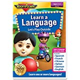 Learn a Language: Let's Play Outside DVD by Rock 'N Learn - Spanish, French, Chinese, Italian, German and English (6 languages on one DVD)