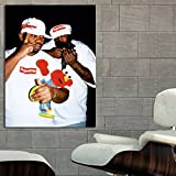 #11 Poster Mural Wu Tang Supreme 40x54 inch (100x135 cm) on Adhesive Vinyl