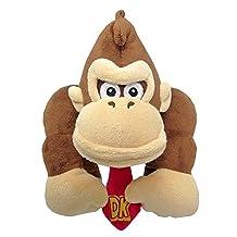 "Little Buddy 1586 Super Mario All Star Collection Donkey Kong 8"" Stuffed Plush"