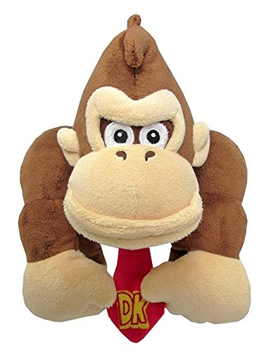 Little Buddy Super Mario All Star Collection 1586 Donkey Kong Stuffed Plush, 8