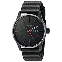 Nixon Unisex The Sentry Leather - The Star Wars Collection Kylo Black