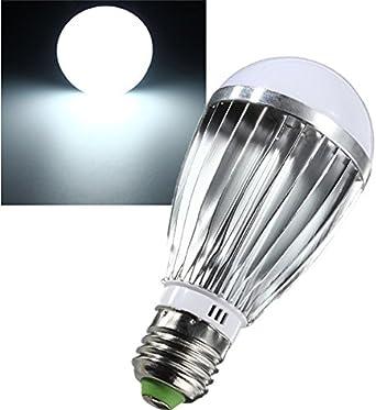 CALALEIE E27 7W LED Lámpara de luz Bombilla blanca Jardín Camper DC12V interior Accesorios para herramientas de luz LED: Amazon.es: Iluminación
