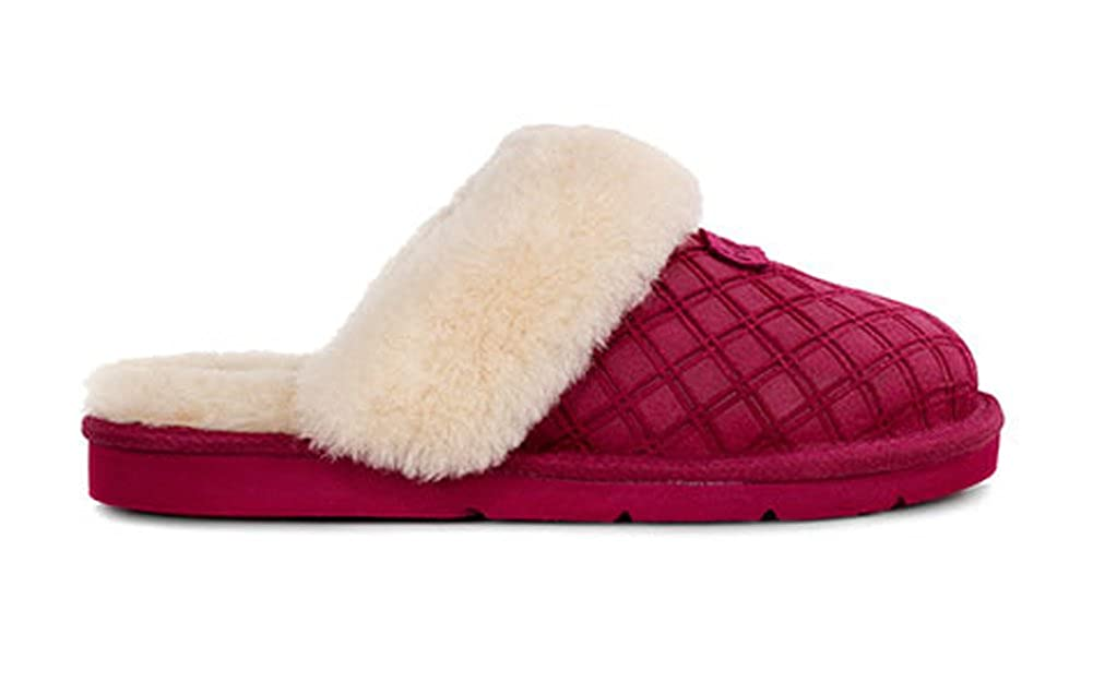 2e510e460a9 UGG Womens Cozy Double Diamond Slipper Lonely Hearts Size 8: Amazon ...