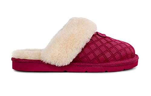 63e37ccf397 UGG Womens Cozy Double Diamond Slipper Lonely Hearts Size 6: Amazon ...