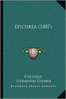 Epicurea (1887)