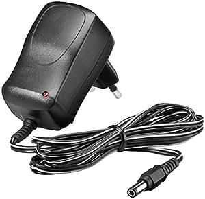 Wentronic 54779 - Cargador de red (100-240 V, 12 V, indicador LED), negro