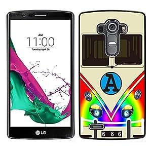 Dragon Case - FOR LG G4 - Life is too short - Caja protectora de pl??stico duro de la cubierta Dise?¡Ào Slim Fit