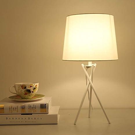 Lámpara de mesa escritorio lámpara de mesa de hierro forjado ...