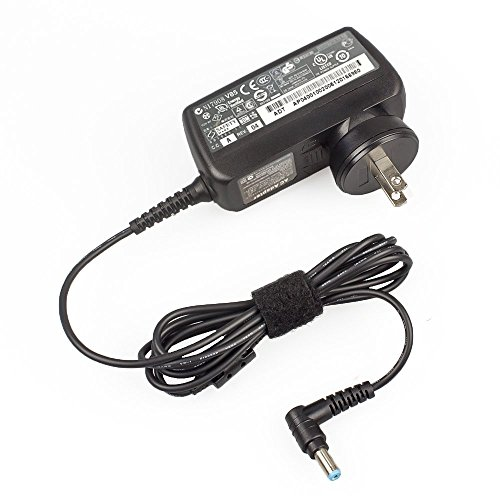 """HOOKE 19V 2.15A AC Adapter 40W Charger Power Supply for Acer Aspire One 10.1"""" 8.9"""" Netbook A110 A150"""