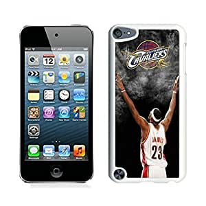 New Custom Design Cover Case For iPod Touch 5th Generation Cleveland Cavaliers Lebron James 3 White Phone Case