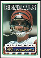 Football NFL 1983 Topps #235 Cris Collinsworth DP Bengals