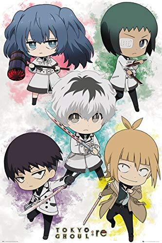 Amazon com: Tokyo Ghoul: RE - Manga Anime Poster (Chibi